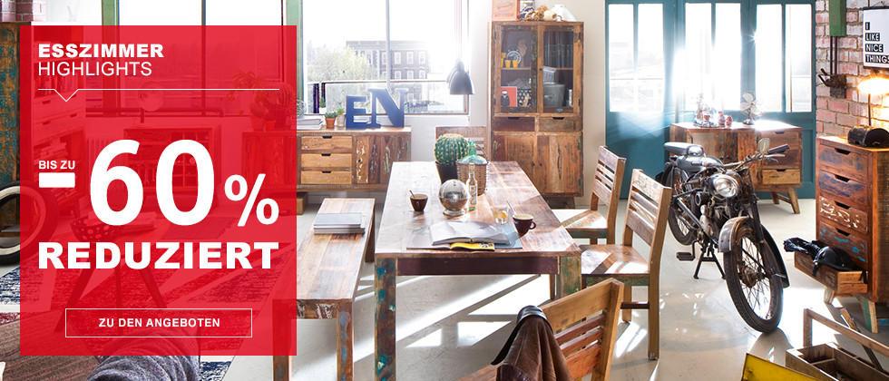 Esszimmer Highlights – bis zu -60 % reduziert