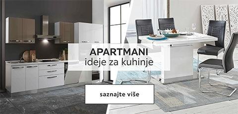 Apartmani-ideje za kuhinje