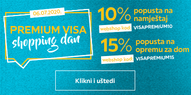 Shopping day Visa Premium 10 i 15%