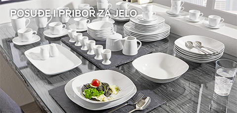 posuđe i pribor za jelo