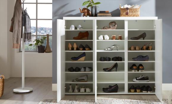 Schuhschrank weiß