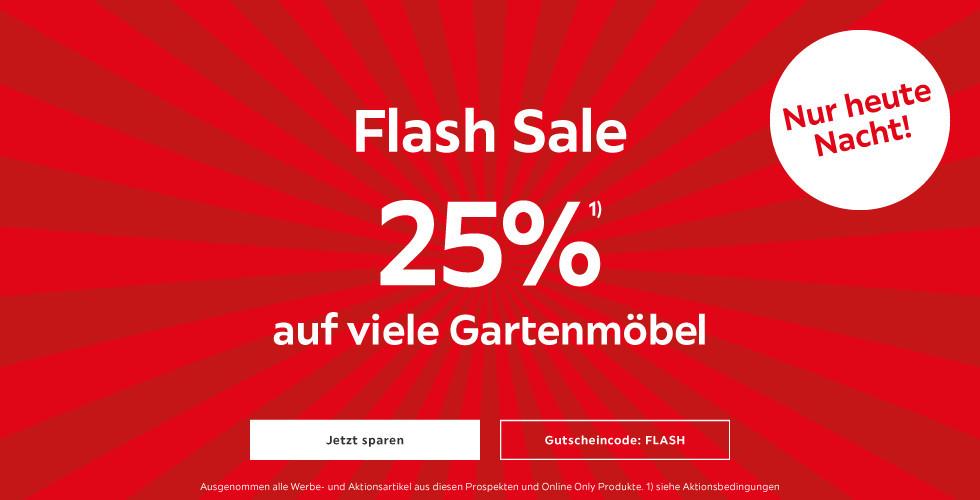 Gartenmöbel Flash Sale 25% auf Gartenmöbel mit GS Code: FLASH