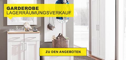 Garderobe Lagerräumungsverkauf