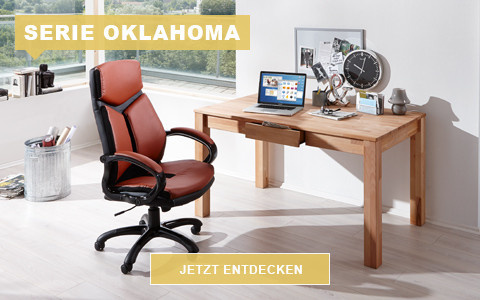 Büro Oklahoma Kernbuche massiv