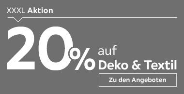 20% auf Deko & Textil
