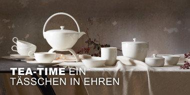 Tea-Time Ein Tässchen in Ehren