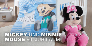Mickey und Minnie Mouse