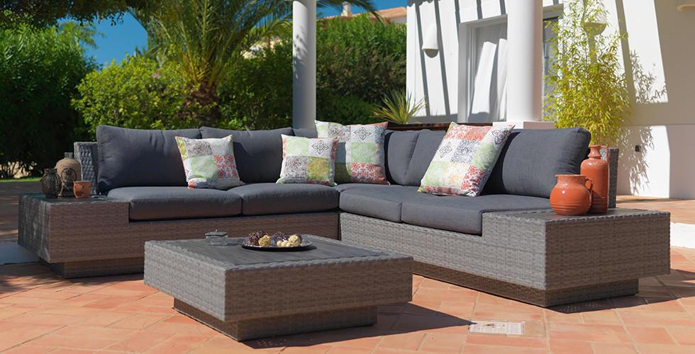 Loungesitzecke für den Garten