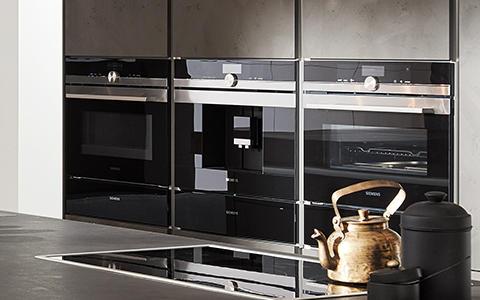 Grifflose Küchen Elektrogeräte