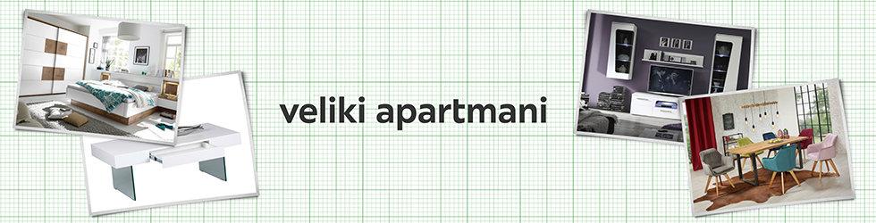ideje za opremanje velikog apartmana