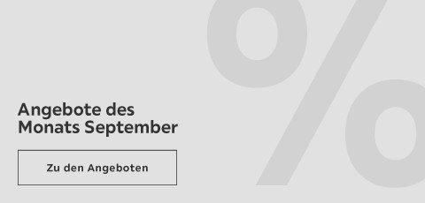 Angebote des Monats September