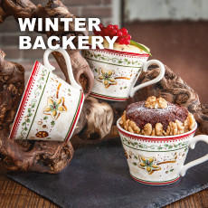 Villeroy & Boch Winter Backery Rot Braun
