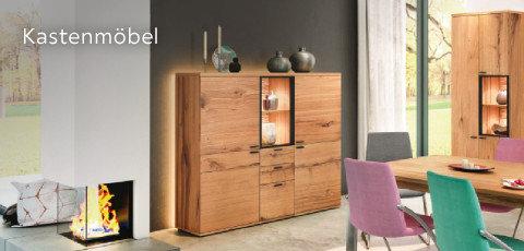 Venjakob Kastenmöbel Kommoden Braun Holz