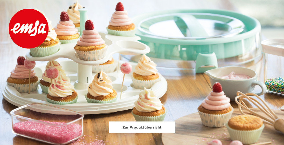 Emsa Cupcakes Muffins Aufbewahrung