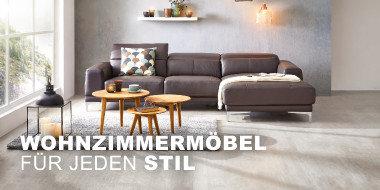 Wohnzimmermöbel für jeden Stil