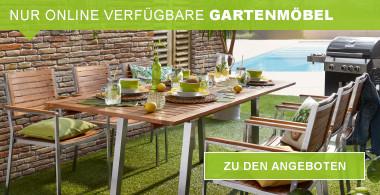 Gartenmöbel nur online verfügbar