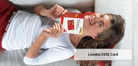 Lesnina XXXL card