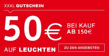 50€ bei Kauf ab 150€ Leuchten