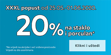 popust na staklo i porculan