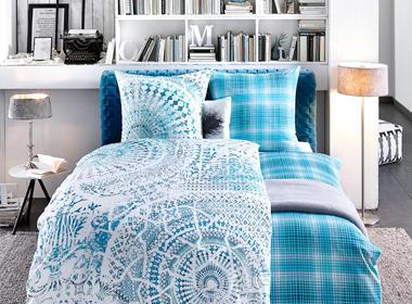 380_modra_posteljnina
