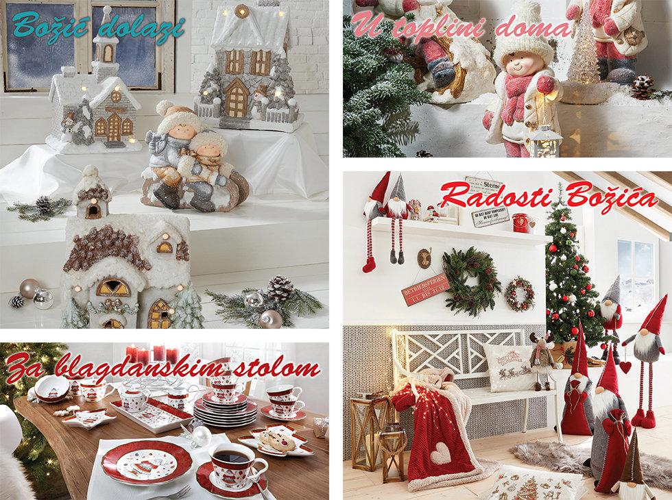 božićno ukrašavanje doma