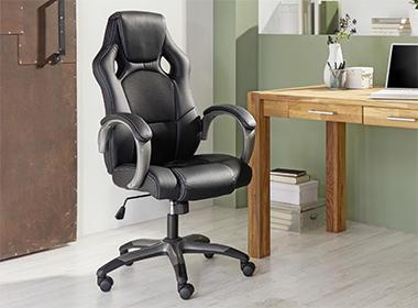 Kvalitetna i udobna uredska stolica Lesnina XXXL
