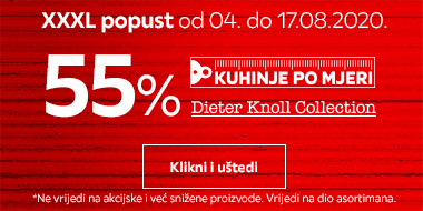 55% popusta na Dieter Knoll kuhinje po mjeri