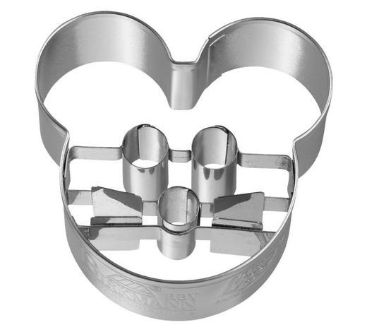 KEKSAUSSTECHFORM - Edelstahlfarben, Basics, Metall (5,5/2,5/5,3cm) - Birkmann