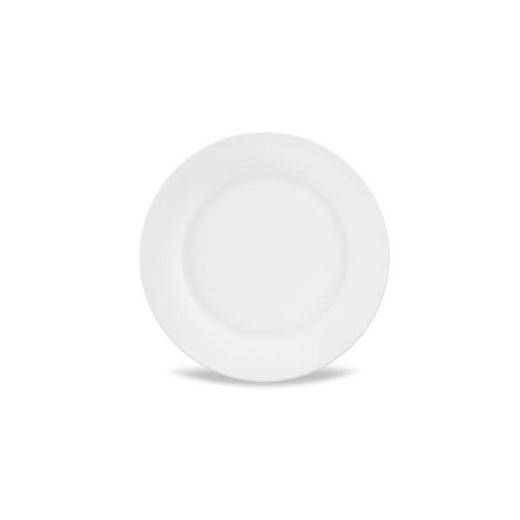 DESSERTTELLER 19 cm - Weiß, Basics, Keramik (19cm) - Homeware