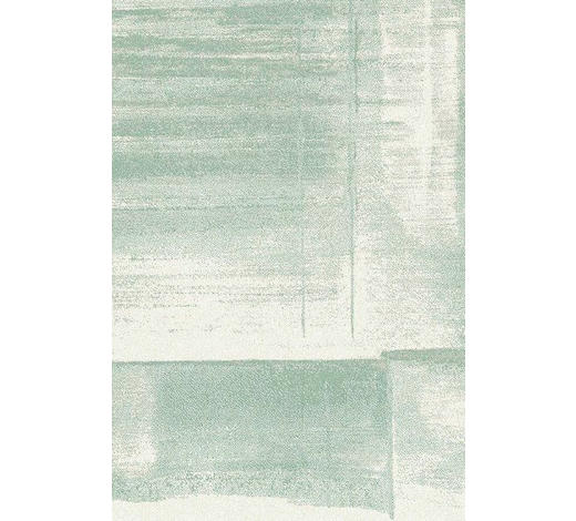 WEBTEPPICH  67/130 cm  Creme, Grün   - Creme/Grün, KONVENTIONELL, Textil (67/130cm) - Novel