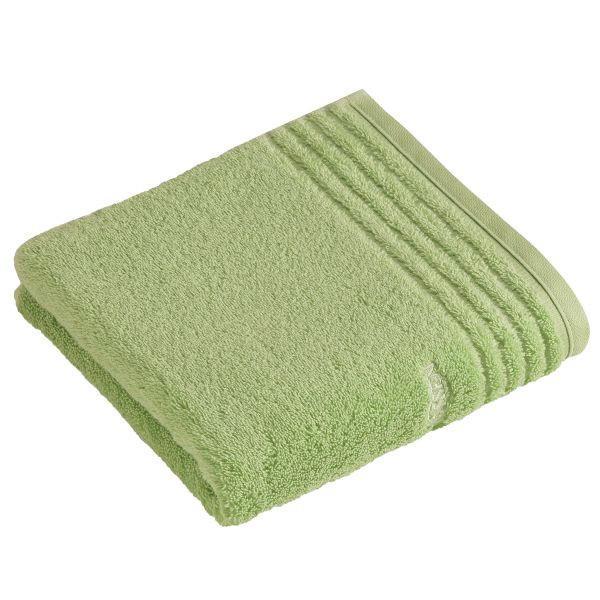 HANDTUCH 50/100 cm - Hellgrün, Basics, Textil (50/100cm) - VOSSEN