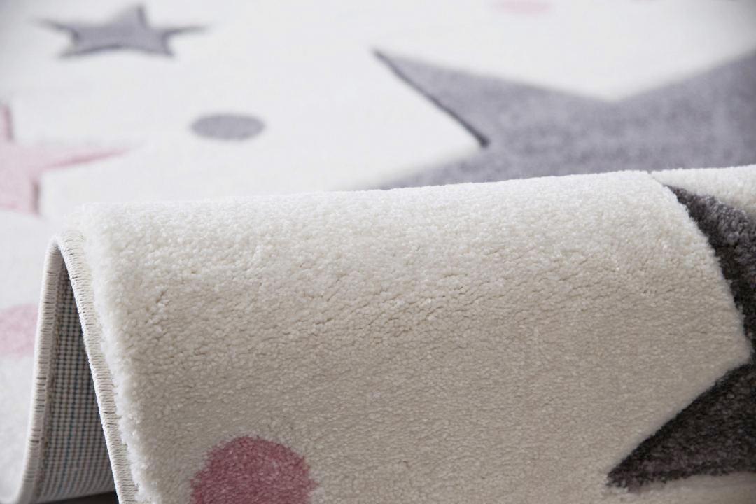 KINDERTEPPICH  Creme  100/160 cm - Creme, Textil (100/160cm)