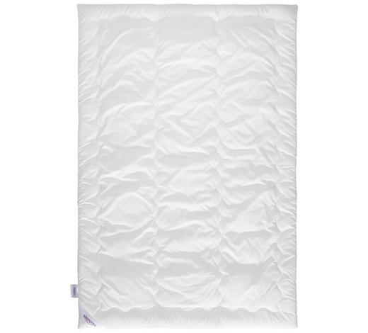 EINZIEHDECKE 140/200 cm  - Weiß, Basics, Textil (140/200cm) - Sleeptex