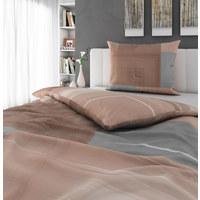 Bettwäsche 160/210 cm - Naturfarben, Konventionell, Textil (160/210cm) - Esposa