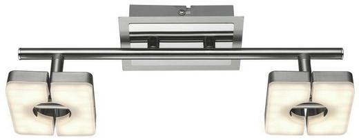 LED-STRAHLER - Nickelfarben, Design, Kunststoff/Metall (11/30cm)