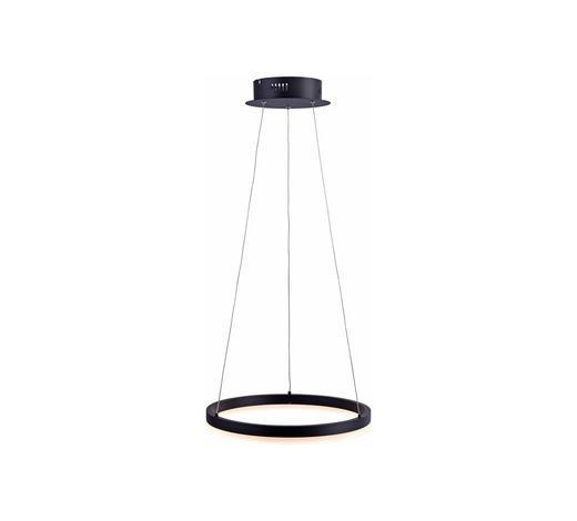 LED-HÄNGELEUCHTE - Anthrazit, Design, Kunststoff/Metall (40/40/120cm)