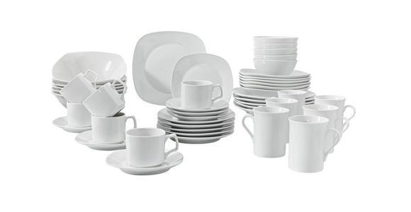 SPEISETELLER 27,5 cm - Weiß, Basics, Keramik (27,5cm) - Boxxx