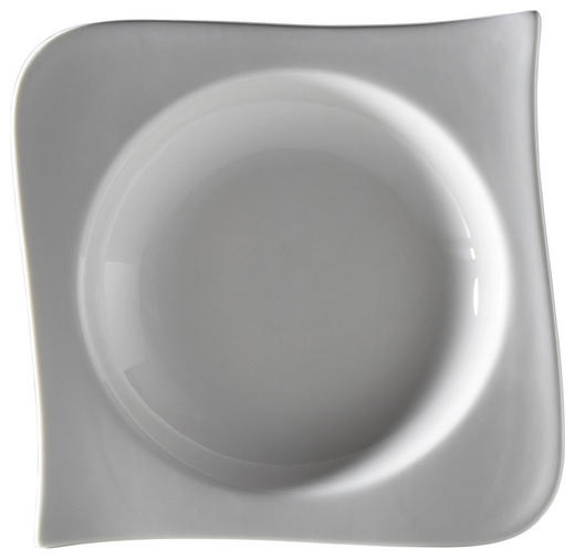 SUPPENTELLER New Bone China - Weiß, Basics, Keramik (21/21/4cm) - Ritzenhoff Breker