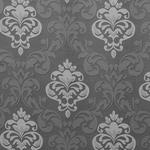 VORHANGSTOFF per lfm Verdunkelung - Dunkelgrau, KONVENTIONELL, Textil (140cm) - Esposa