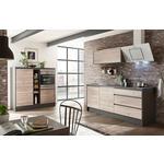 Küchenleerblock in Anthrazit   - Eichefarben/Anthrazit, MODERN (210+150/190/60cm) - Xora