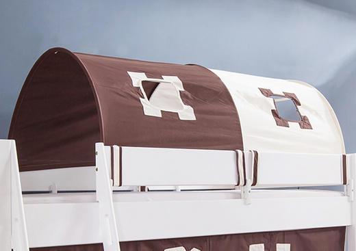 TUNNELSET Beige, Braun - Beige/Braun, Design, Textil