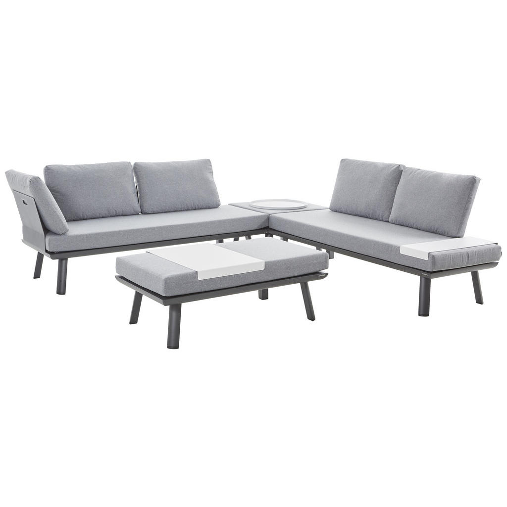 Ambia Garden Loungegarnitur weiß
