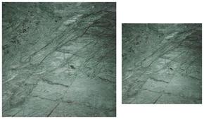 SATSBORD - grön, Design, glas (75/70/43/35/75/70cm)