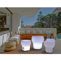 LED LEUCHTE CALVIN 40 PLAY - Weiß, Design, Kunststoff (40/41,5cm)