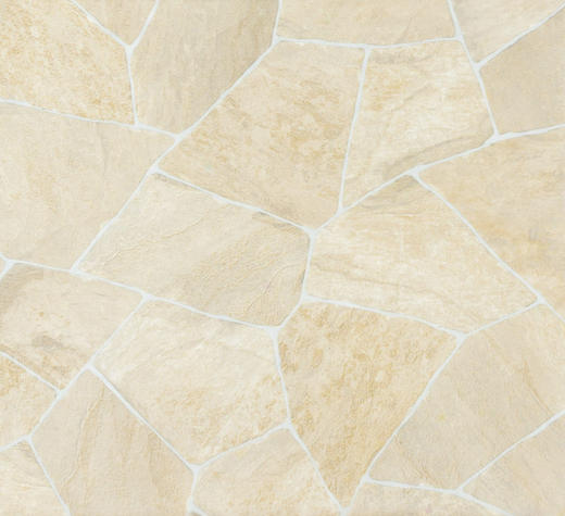 PVC-BELAG per  m² - Sandfarben, Design, Kunststoff (300cm) - Venda