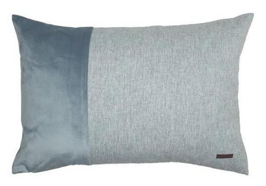 KISSENHÜLLE Blau, Grau 38/58 cm - Blau/Grau, Textil (38/58cm) - Esprit