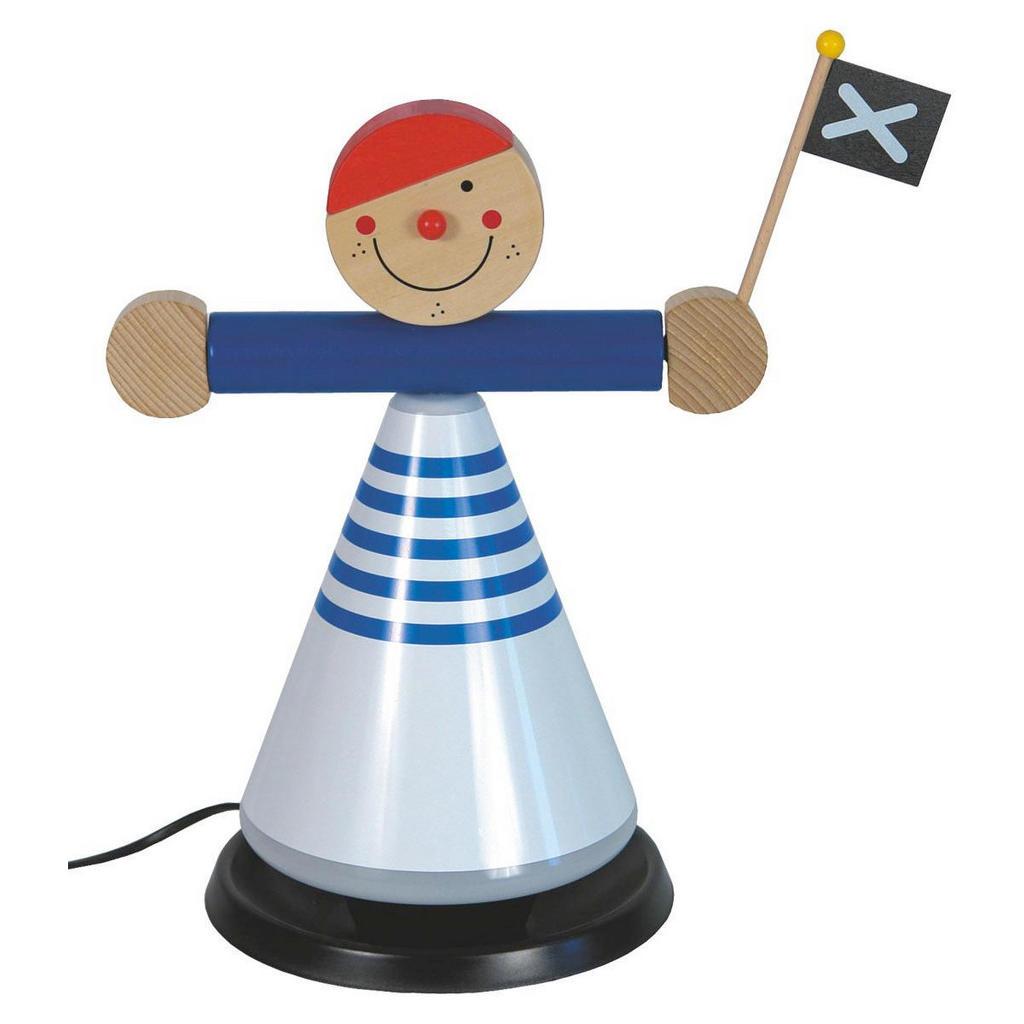 Niermann Kinder-Nachttischlampe 'Pirat'