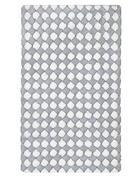 KUPAONSKI TEPIH - siva/boje srebra, Basics, tekstil/plastika (60/100cm) - Kleine Wolke