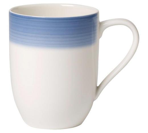 KAFFEEBECHER 340 ml  - Blau/Creme, KONVENTIONELL, Keramik (0,34l) - Villeroy & Boch