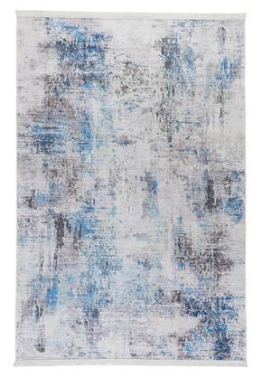 VINTAGE MATTA - vit/blå, Design, textil (120/180cm) - Novel